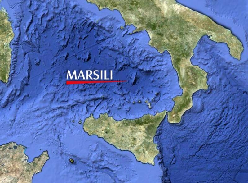 Vulcano sottomarino Marsili - lafrecciaverde.it